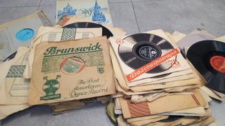 Большой лот Патефонных пластинок ИНостранные + СССР 50е года