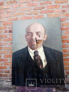 Портрет маслом В.И.Ленина