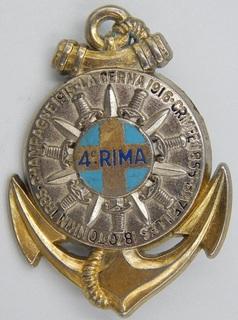 Франция. Полковой знак. 4-й пехотный полк марин.