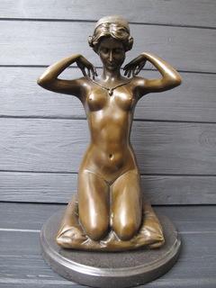 Новое ожерелье Бронзовая скульптура Paul Ponsard
