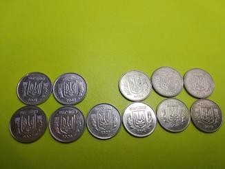 2 копійки (2001,2002,2004,2005,2006,2007,2008,2009,2010,2011,2012)