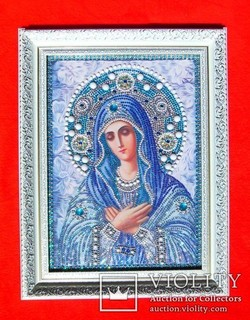 Икона Умиление Алмазная мозаика стразы Очень красивая (новая)