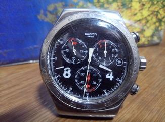 Swatch, хронограф