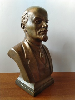 Ленин. Скульптор  А.Рабин  1959 год.