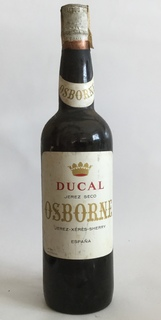"""Херес,,Osborne""""(Ducal Seco). Іспанія 1970"""