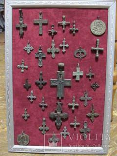 Коллекция крестиков.