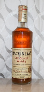 Виски Mackinlay's 5 years - 1970s