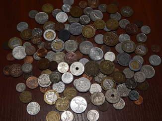Коллекция монет разных стран мира 133 шт.