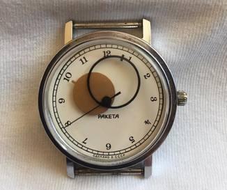 Часы- ( Ракета)