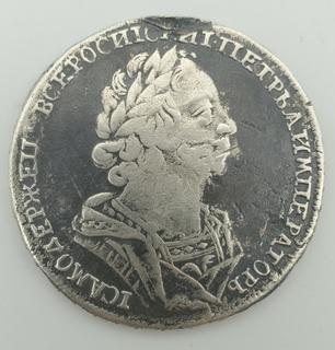 Рубль Петр 1 первый 1724 года