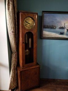 Напольные часы Gustav Becker