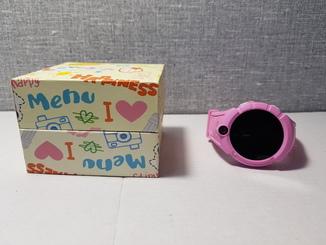 Детские телефон часы с GPS трекером Q360 Pink (код 2)