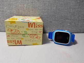 Детские часы с GPS трекером Q90 Blue Wi-Fi