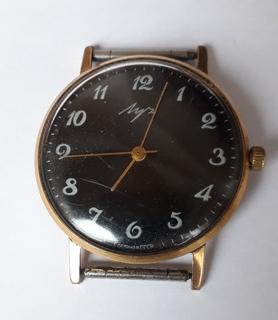 """Часы """"Луч"""" (23 камня.Au12.5) Тонкие"""