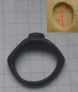 Римський перстень з зображенням