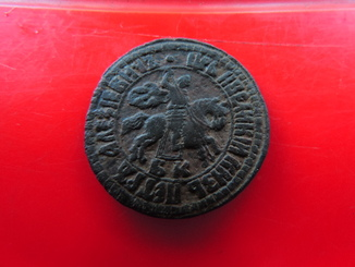 1 копейка 1704 года БК ( R1- R3 )