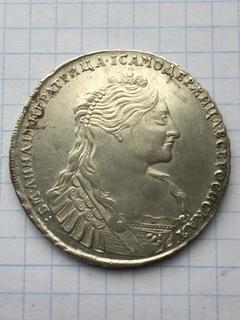 Рубль Анны 1735