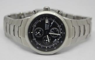 Casio oceanus alarm chronograph