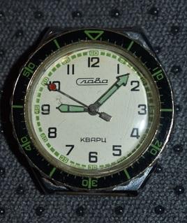 Часы слава кварц рабочие