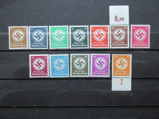 3-й Рейх Германия, Свастика, MNH
