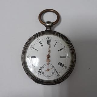 Срібний годинник Cylindre 10 rubis