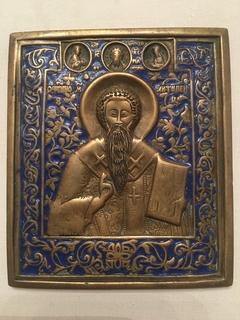 Святой Антипий Эмали