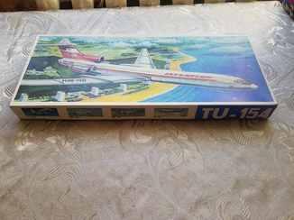 Самолет ТУ-154, 1:100, ГДР