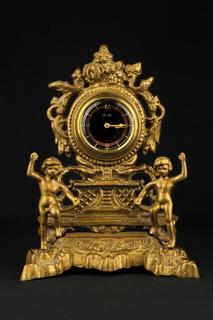 Настольные, кабинетные часы Mauthe в бронзовом корпусе (0519)