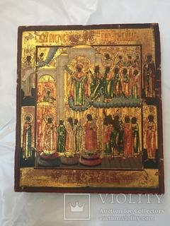 Икона Образ Покрова Пресвятой Богородицы