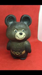 Мишка Олимпийский.  Олимпиада - 80.
