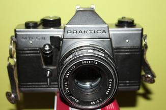 Фотоаппарат Praktica MTL 5 B + Oreston 1.8/50мм