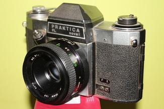 Фотоаппарат Praktica PL nova I+Vivitar 2.8\55 auto.