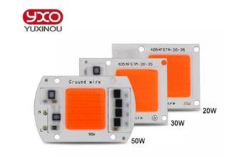 Фито светодиод LED 50w 220v 30вт матрица полного спектра 50вт гидропоника