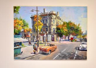 Картина, масло, холст, 55х75 Автор Сергей Тюпо