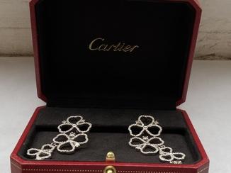 Серьги с бриллиантами 5,48 карат