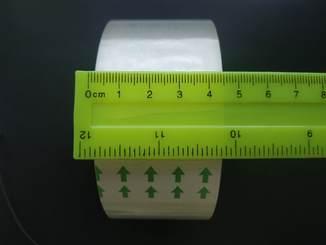 10 рулонов прозрачного скотча , ширина 45 мм. Без резерва