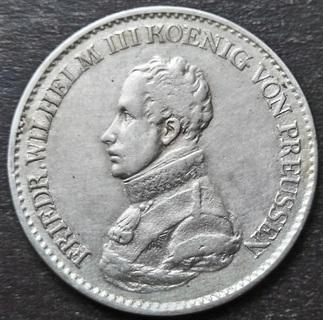 1 Талер 1819 Пруссия. Фридрих-Вильгельм III.