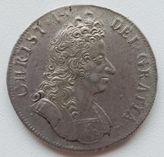 Дания 4 марки (крона) 1695