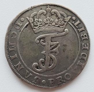 Дания 4 марки (крона) 1667