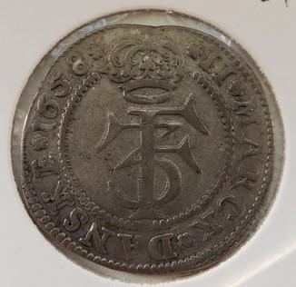 Дания 2 марки 1658