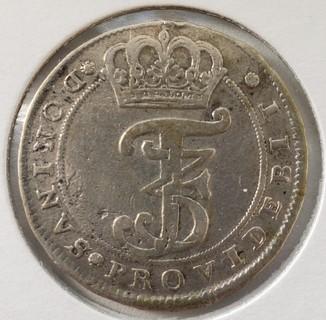Дания 2 марки 1668