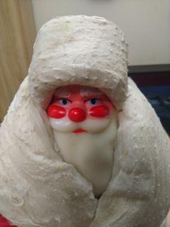 Дед мороз усср укрпромигрушка 50см, 1983 - 1984 год. Как новый