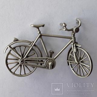 Велосипед из серебра