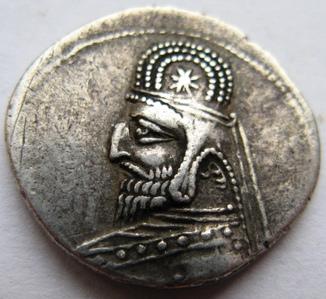 Парфия, серебряная драхма ОRODES I (80-77 гг. до н.э.)