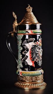 Коллекционная пивная кружка. Deutsches Reich. Лимитированный выпуск. Германия