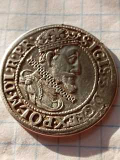 Гданский орт 1615 г. Сигизмунд ІІІ Ваза