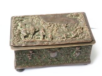 Французская шкатулка 18-го века в стиле Рококо