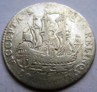 """Зеландия, 6 стюйверов 1755 """"Парусник"""""""