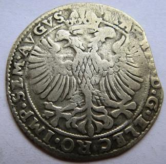 Нидерланды, г. Кампен, серебряный арендшиллинг, Matthias I (1612-1619).