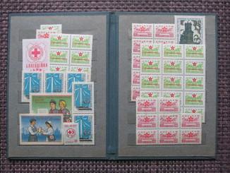 СССР, Не почтовые марки в альбоме